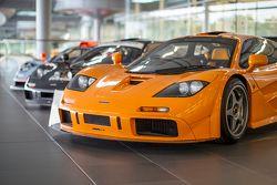 McLaren F1s en el centro de tecnología