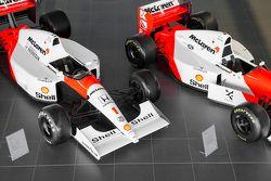 McLaren storiche al Technology Center