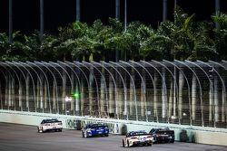 Trevor Bayne, Roush Fenway Racing Ford, Cole Whitt, Front Row Motorsports Ford, A.J. Allmendinger, J