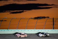 Kyle Larson, Chip Ganassi Racing Chevrolet en Sam Hornish Jr., Richard Petty Motorsports Ford