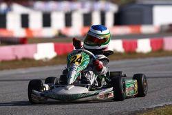 Felipe Bartz no kart