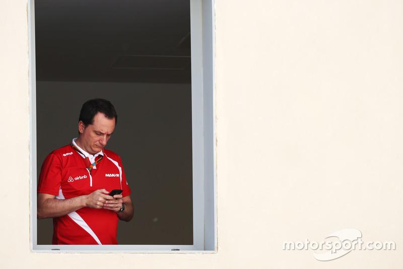 Gianluca Pisanello, Manor Marussia F1 Team, Chefingenieur