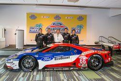 Chip Ganassi Racing Ford GTLM IMSA ve Le Mans Chip Ganassi Racing Chevrolet pilotu: Dirk Müller, Joe