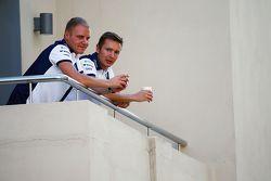فالتيري بوتاس، ويليامز مع أنتي فيرولا، مدربه الشخصى