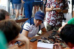 فيليبي ماسا، ويليامز مع وسائل الإعلام