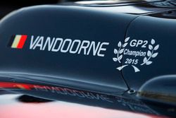 The car of Stoffel Vandoorne, ART Grand Prix