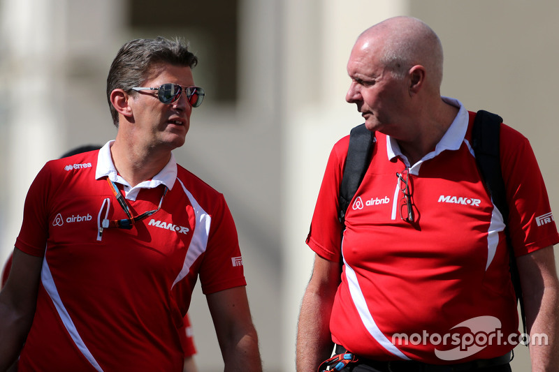 Graeme Lowdon, Team Principal, Manor F1 Team
