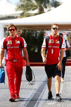 Sebastian Vettel, Ferrari con Antti Kontsas, Entrenador Personal
