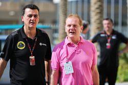 Federico Gastaldi, Vice-Team Principal Lotus F1 Team avec Jonathan Palmer