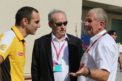 Cyril Abiteboul, Director de general de Renault Sport F1 con Jerome Stroll, Renault Sport F1 Preside