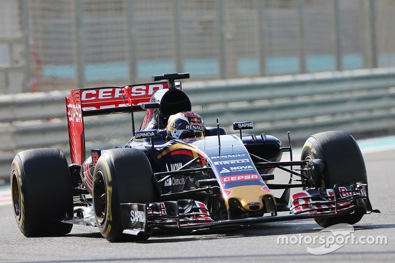 2015 - Grand Prix von Abu Dahabi: Max Verstappen, Scuderia Toro Rosso STR10