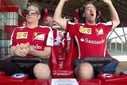 Raikkonen e Vettel andam de montanha russa