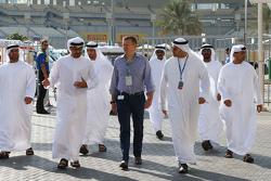 Simon Pearce, Special Advisor to the Chairman of the Executive Affairs Authority, of Abu Dhabi