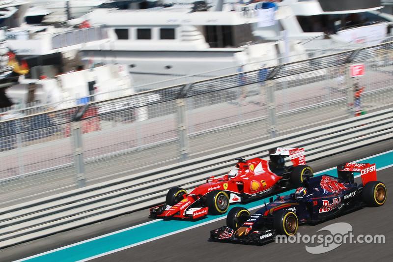 Гран При Абу-Даби, 27 ноября. Макс Ферстаппен и Себастьян Феттель