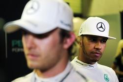 Нико Росберг, Mercedes AMG F1 и Льюис Хэмилтон, Mercedes AMG F1