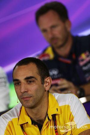 Cyril Abiteboul, Directeur Général Renault Sport F1 lors de la conférence de presse de la FIA