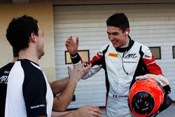 Pole sahibi Esteban Ocon, ART Grand Prix