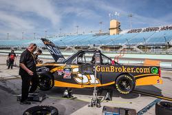 Le truck de Rico Abreu, NTS Motorsports