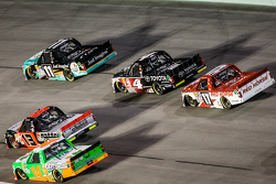 Ben Kennedy, Red Horse Racing Toyota, Cameron Haley, Daniel Hemric, NTS Motorsports, Erik Jones, Kyle Busch Motorsports, Timothy Peters, Red Horse Racing