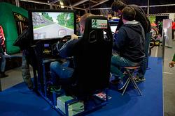 Rally simulator