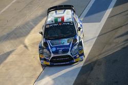 Luca Betti and Selvaggia Lucarelli, Ford Fiesta