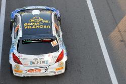 Massimo Colombo y Matteo Sala, Peugeot 207