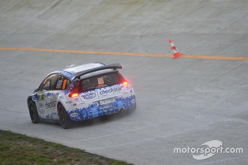 Luca Pedersoli y Veronica Boni, Citroën C4