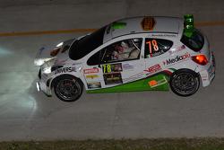 Roberto Vellani y Luca Amadori, Peugeot 207