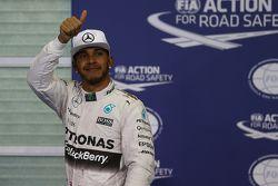 Second place Lewis Hamilton, Mercedes AMG F1 Team
