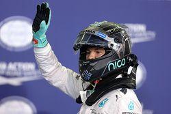 Polesitter Nico Rosberg, Mercedes AMG F1 Team