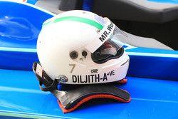 Diljith TS helmet