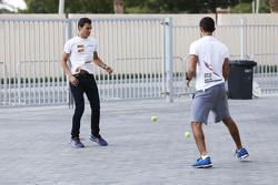 Alex Palou, Campos Racing and Zaid Ashkanani, Campos Racing
