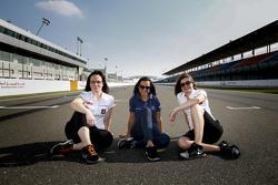 Julie Berthelot, Sébastien Loeb Racing, Francesca Valdani, Roal Motorsport, Claire Magnant, Citroën World Touring team
