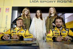 Robert Huff, Lada Vesta WTCC, Lada Sport Rosneft, Nicolas Lapierre, Lada Vesta WTCC, Lada Sport Rosn