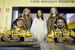 罗伯·荷夫,拉达Vesta WTCC,拉达车队;尼古拉斯·拉皮埃尔,拉达Vesta WTCC,拉达车队