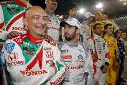 Gabriele Tarquini, Honda Civic WTCC, Honda Racing Team JAS, Jose Maria Lopez, Citroën C-Elysée WTCC,