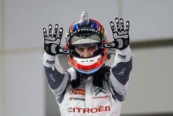 Race winner Jose Maria Lopez, Citroën C-Elysée WTCC, Citroën World Touring Car team