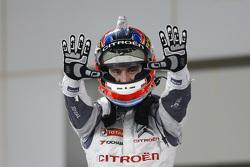 Ganador de la carrera José María López, Citroën C-Elysée WTCC, Citroën World Touring Car team