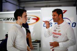 John Filippi, Chevrolet RML Cruze TC1, Campos Racing; Nasser Al-Attiyah, Chevrolet Cruze, Campos Rac