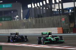 Oliver Rowland, Status Grand Prix lidera a Sergio Canamasas, Team Lazarus