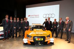 Audi Sport DTM drivers and heads of teams