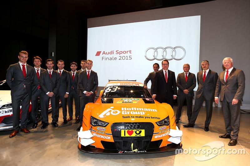 Die Audi-DTM-Fahrer und ihre Teamchefs