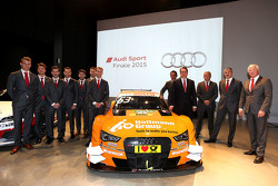 Audi Sport DTM coureurs en teambazen