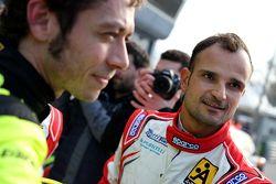 Vitantonio Liuzzi ve Valentino Rossi