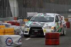 Marco Belli und Marco Lucchetti, Mitsubishi Lancer Evo X