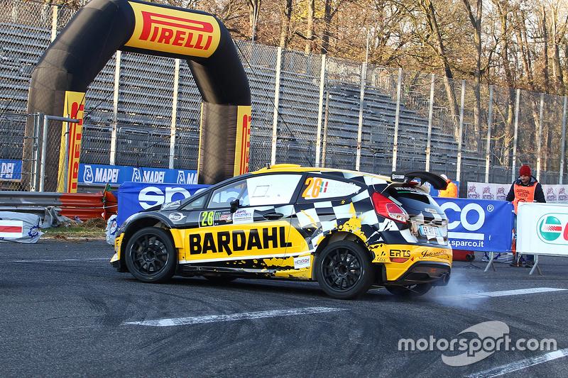 Riccardo de Bellis und David Castiglioni, Ford Fiesta