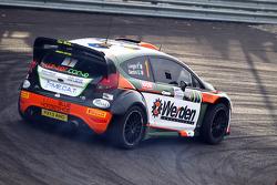 Piero Longhi und Gianmaria Santini, Ford Fiesta