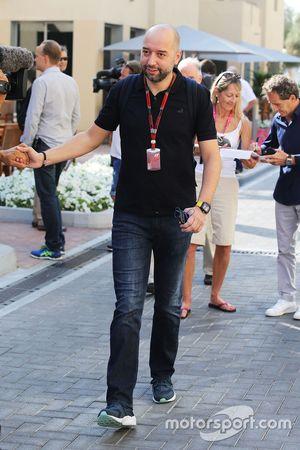 Жерард Лопес, руководитель Lotus F1 Team