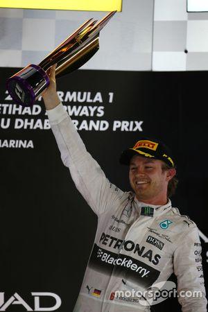 Race winner Nico Rosberg, Mercedes AMG F1 W06