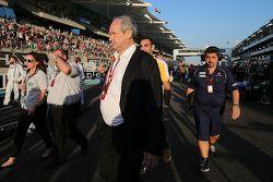 Jerome Stoll, President Renault Sport F1 sulla griglia